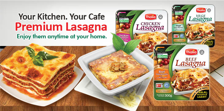 Thalia Muslim Kitchen - It's Always A Bite To Remember : Lasagna